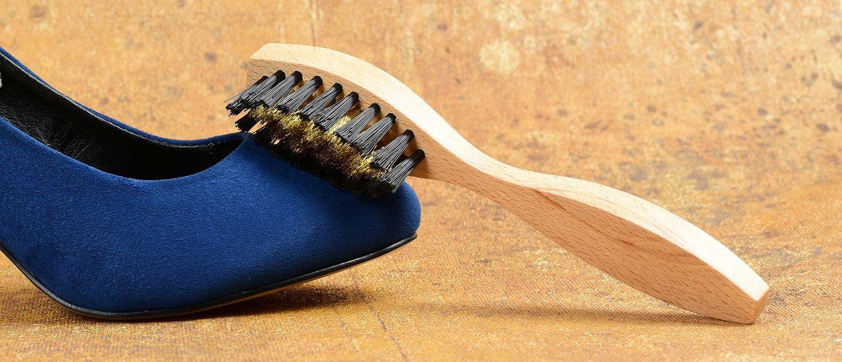 Kartáč na semišové boty