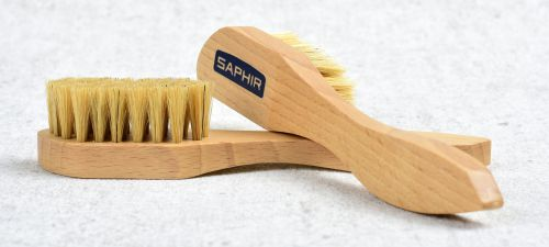 Krémovací kartáček na boty Saphir