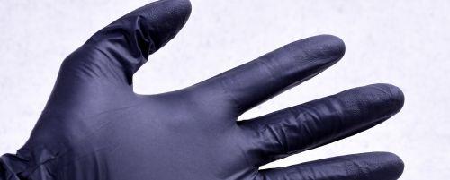 nitrilové pracovní rukavice