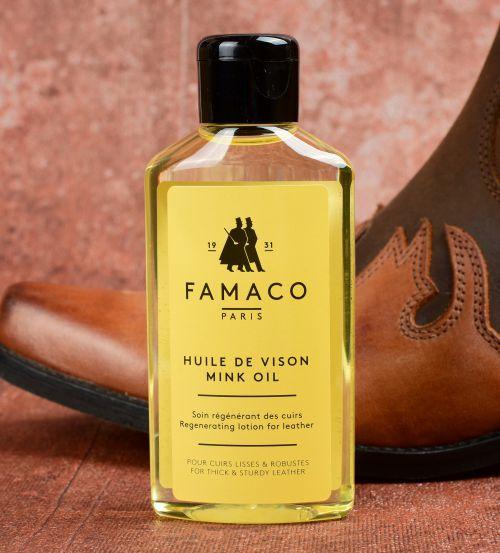 Norkový olej na vyschlou kůži impregnace