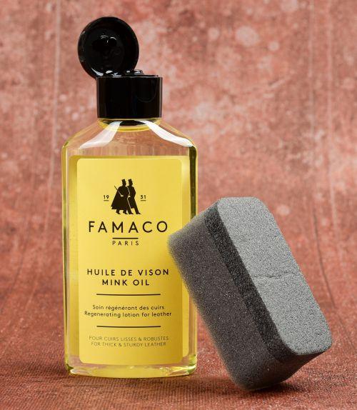 Norkový olej , zatvrdlá kůže
