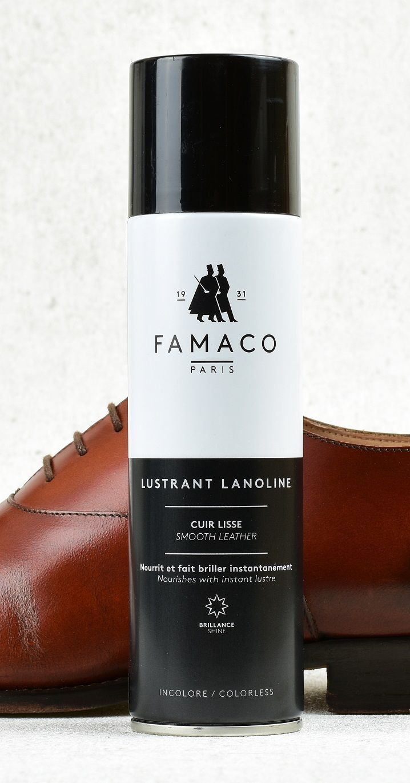 Leštící lanolinový sprej na kůži Famaco