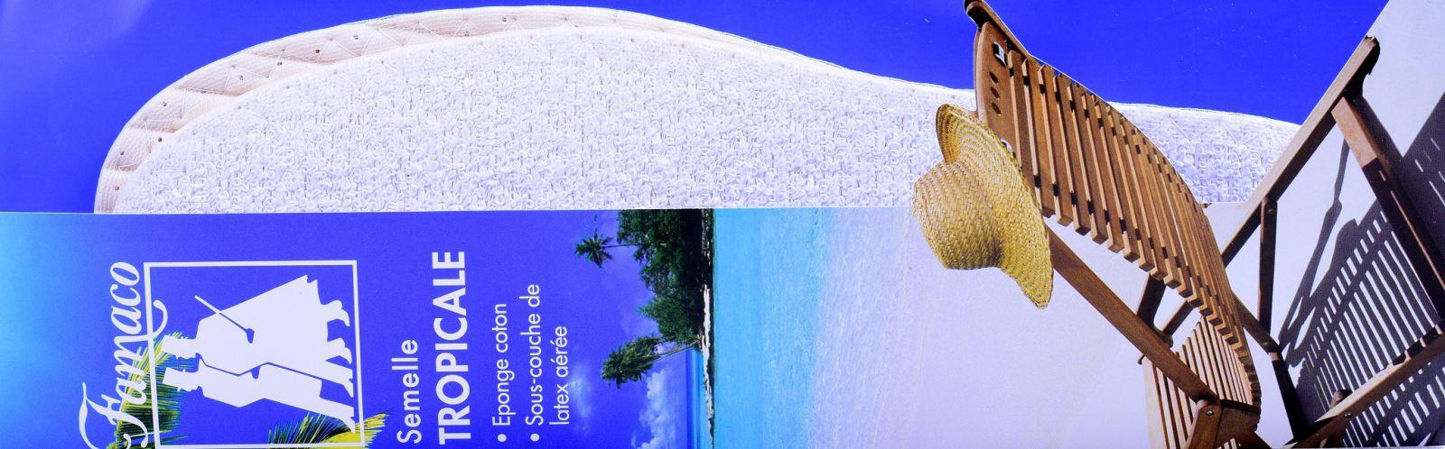 Vložky do bot Tropicale
