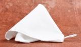 Leštící rukavice bavlněná, bílá Famaco