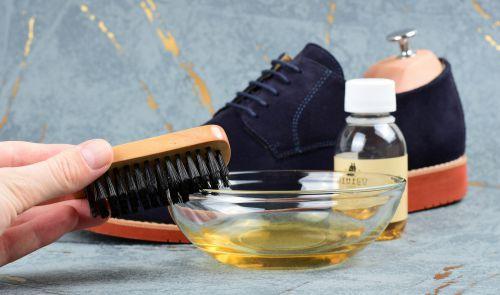 šampon na semiš