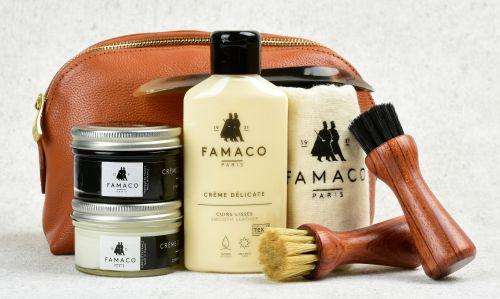 Sada k péči o kožené boty Famaco Business