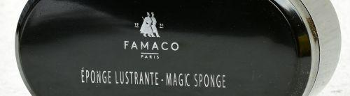 Rychločistící houba na boty Famaco