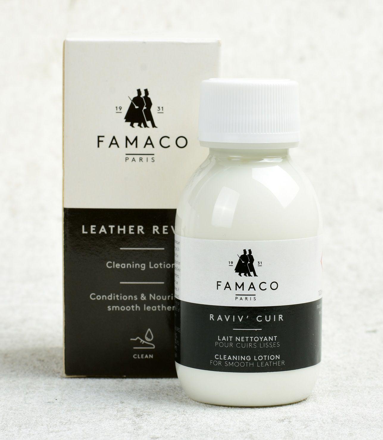 Hloubkový čistič na kůži Famaco Raviv' cuir