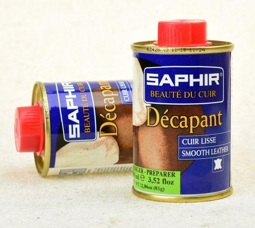 Odbarvovač na kůži Saphir